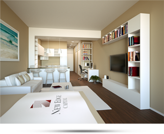 Photorealistic 3D Rendering of Home Interiors & Rooms