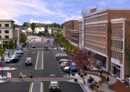 Render of Main St Concord