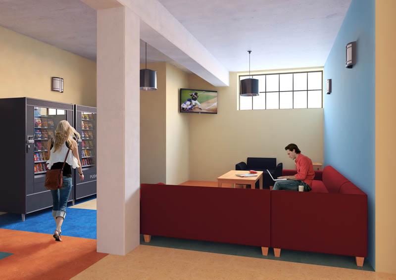 dormitory render