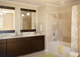 Master Bathroom Exterior Render in 3D