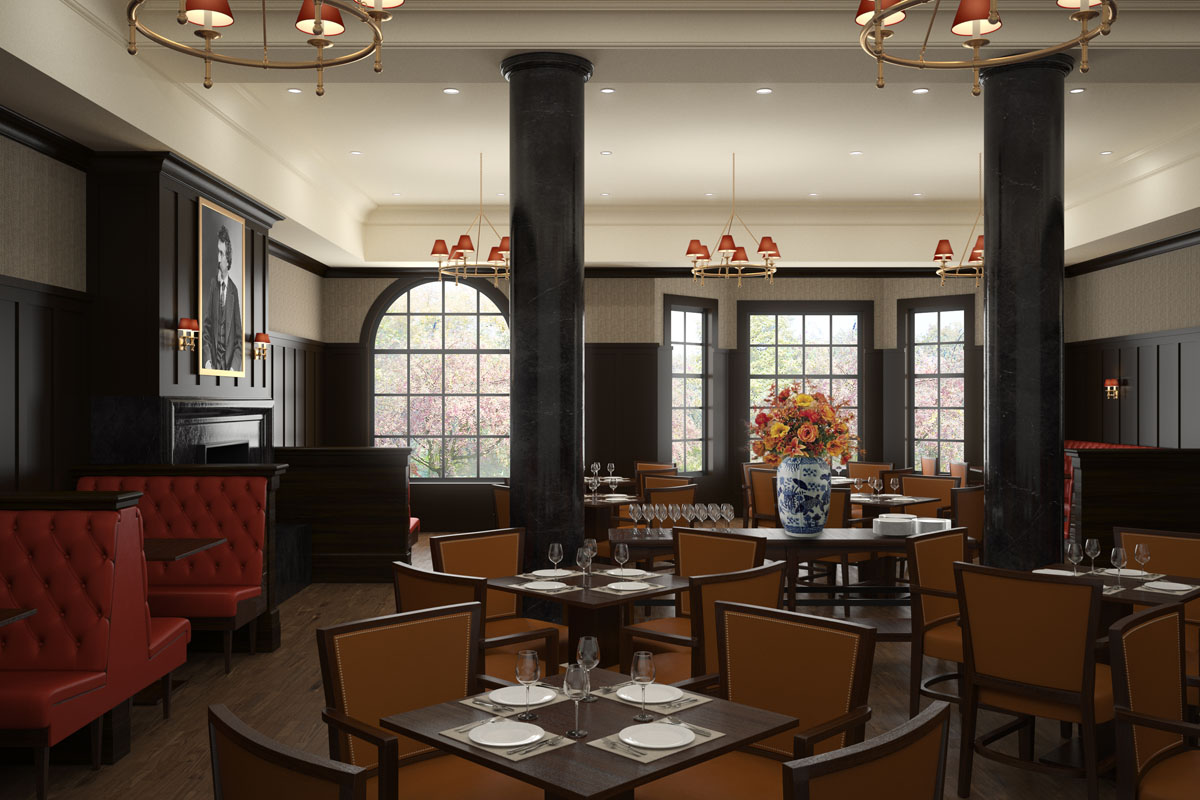restaurant render