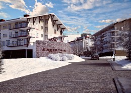 Photorealistic Ski Resort 3D Professional Rendering