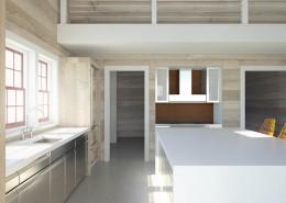 Beach Home 3D Interior Rendering