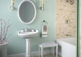 Rendering of Bathroom Vanity