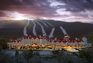 Professional Ski Resort & Mountain 3D Renderings